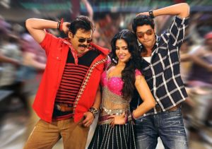 KVJ Venkatesh Sameera and Rana