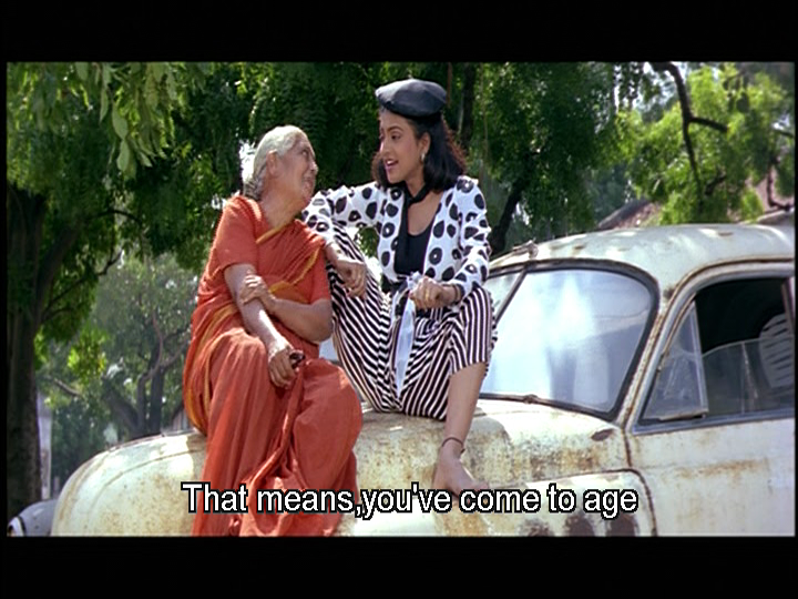 Rarely do I agree with the filmi advice to pop on a sari and you'll