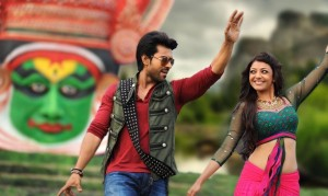 Naayak Charan and Kajal dance