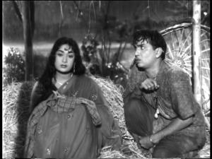 Mooga Manasulu-ANR and Savitri