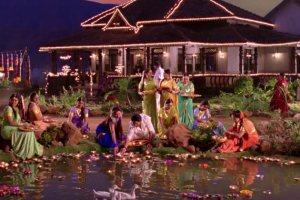 chennai-express-village scenes