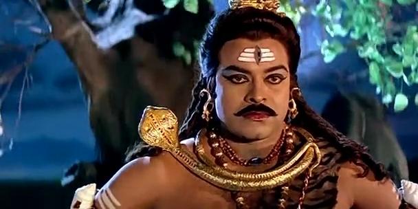 Chiru as Shiva