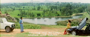 Padayappa-beauty status and talent