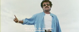Padayappa-Padayappa the hero