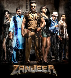 hindi dubbed movies of ramcharan - zanzeer poster