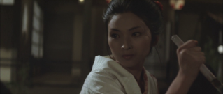 Lady Snowblood-Yuki closes in