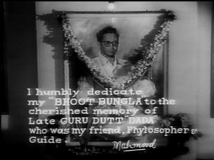 Bhoot-Bungla-Dedication