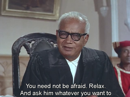 Mera Saaya-the judge