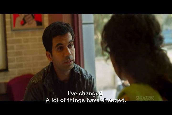 「我改變了。很多事情都改變了。」