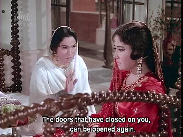 Bahu Begum-Lalita Pawar and Meena Kumari