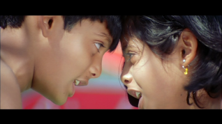 Bujjigaadu-Bujji and Chitti as kids