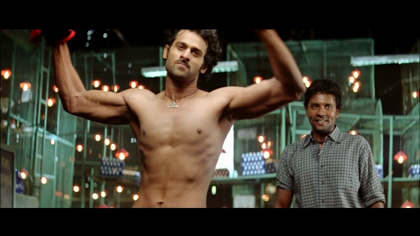 Mind you, Prabhas does get props for his Chihuahua wrangling skills ...