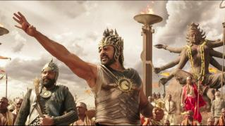 Baahubali-Baahubali and army