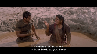 Dum-Laga-Ke-Haisha-mud and laughter