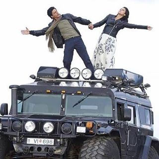 Dilwale-flash cars
