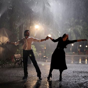 Dilwale-rain