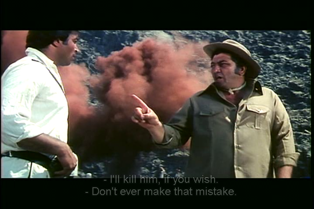 Mr Natwarlal-mistake