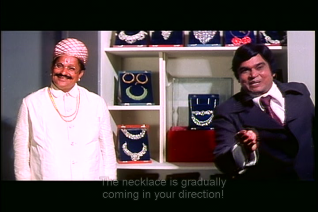 Mr Natwarlal-the necklace