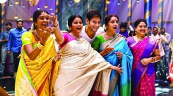 Mahesh and family 2