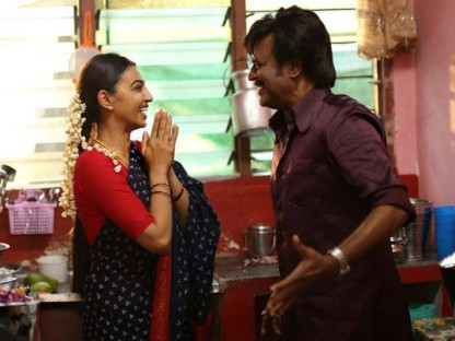 Kabali-Radhika and Rajni