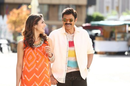 Nayanthara, Venkatesh in Babu Bangaram Movie Latest Pics