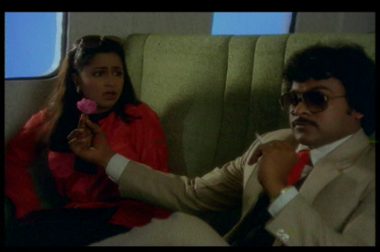 Goodachari No 1-Chiranjeevi and Radhika