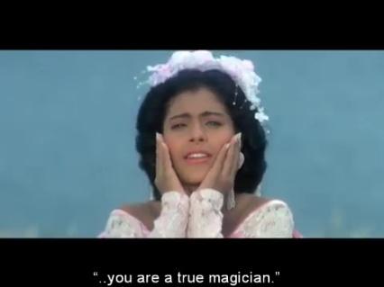Baazigar-manic pixie bridal Kajol