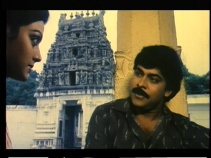 Khaidi No 786-Chiru and Bhanupriya