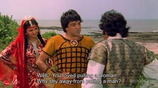 dharam-veer-pulling