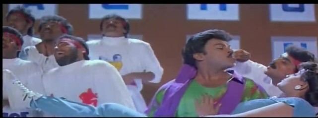 Mechanic Alludu-Chiru and Vijayashanti