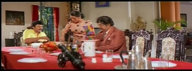 Mechanic Alludu-dinner