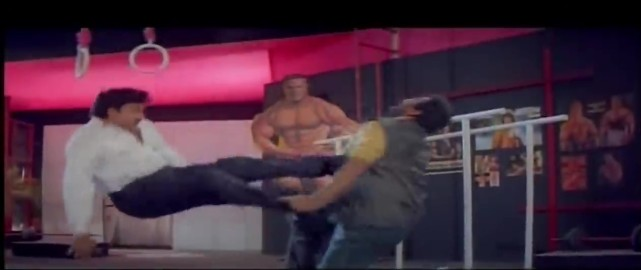 Mechanic Alludu-fight 1